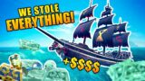 We stole all the Loot – Sea of thieves
