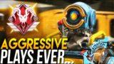 "When PROS Make ""AGGRESSIVE"" Plays in Apex Legends! #2"