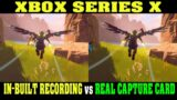 """XBox Series X """"CAPTURE & SHARE"""" vs REAL CAPTURE CARD – Does it SUCK?"""