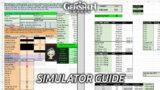 XIAO DAMAGE SIMULATOR GUIDE | GENSHIN IMPACT