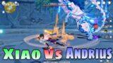 Xiao Vs Andrius – Dominator of Wolf | Genshin Impact