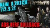 """12.9.2 """"Fix it"""" Patch & ADS Nerf Confusion // Escape from Tarkov News"""