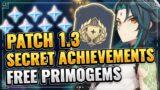 [1.3] ALL NEW 13+2 SECRET ACHIEVEMENTS (FREE PRIMOGEMS! VERY COOL!) Genshin Impact Hu Tao When Tao