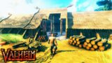 NEW – Viking City Ship Building Survival in Procedurally Generated Map | Ep. 2 | Valheim Gameplay