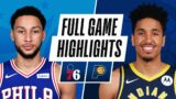 76ERS at PACERS | FULL GAME HIGHLIGHTS | January 31, 2021