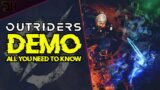 All You Need To Know About The Outriders Demo #Shorts