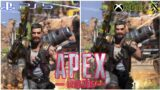 Apex Legends – Season 8 – Mayhem | Graphics Comparison PS5 VS Xbox series X