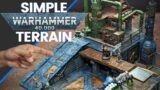 Awesome Warhammer 40K Terrain (build it yourself)