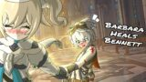 Barbara Heals Bennett [PART 1] – (Genshin Impact Fan Comic)