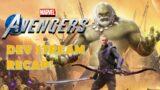 Big News Revealed, Dev Stream Recap! Marvel's Avengers News Update!