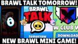 Brawl Talk Tomorrow|New Brawl mini game|March Update|Brawl Stars News