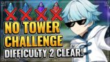 CLEAR DIFFICULTY 2 WITHOUT ANY TOWER!  Theatre Mechanicus Trick Genshin Impact Tower Defense Event