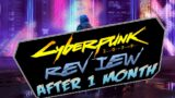 CYBERPUNK 2077 REVIEW JANUARY 2021