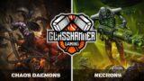 Chaos Daemons vs Necrons: Warhammer 40,000 Battle Report
