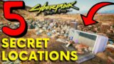 Cyberpunk 2077: 5 Secret Locations with Secret Loot! (Cyberpunk 2077 Secrets)