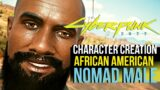 Cyberpunk 2077 BLACK NOMAD MALE CHARACTER CREATION (TRY IT OUT TODAY!)