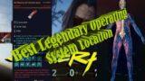 Cyberpunk 2077-Best Legendary Operating System Location &Upgrades