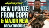 Cyberpunk 2077 News Update – New Official Response from CDPR & Game Changing Mods Breakthrough!
