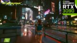 Cyberpunk 2077 Third Person & Graphics Mod 4K | PC MAX SETTINGS Ray Tracing – RTX 3090 Gameplay