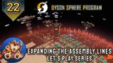 Dyson Sphere Program – Super-Magnetic Rings – Logistics Smelting – Early Access Lets Play – EP22