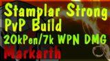 ESO| Stamplar PvP Build| Markarth| No Proc Cheese| 1vX/Smallscale