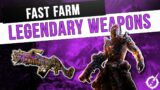 Fast Legendary Weapon Farm and Pyromancer Build   Outriders
