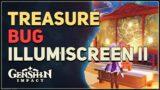 Find the treasure Bug Illumiscreen II Genshin Impact