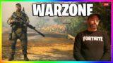 Fortnite COD Nerd   Warzone SOLOS LIVE