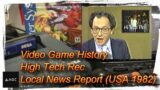 Game Archive – Video Game History High Tech Rec – News Report (USA 1982)