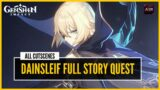 Genshin Impact – Dainsleif Full Story Quest   All Cutscenes   (Japanese Voice/English Sub)