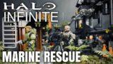 Halo Infinite Marine Squad Rescue – Mega Construx Diorama