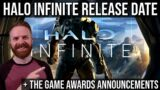 Halo Infinite gets a release date and The Game Awards reveals / announcements