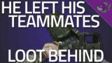 He Left His Teammates Loot Behind – Tarkov Gameplay – Escape From Tarkov