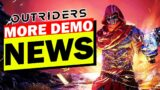 IMPORTANT Outriders DEMO News!![Content, Time, System requirements]