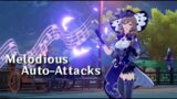 Lisa is the True Bard of Mondstadt | Melodious Auto-Attacks | Genshin Impact