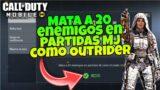 MATA a 20 ENEMIGOS En Partidas MJ Como Outrider Call Of Duty Mobile COD MOBILE