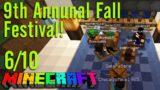 Minecraft: Fall Festival, Part 6/10 – The First Annual Pumpkin Run!