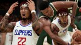 NBA 2K21 PS5 MyNBA – 50 Point Triple Double! Tacko Fall Joins Giannis In Milwaukee [Ep.3]