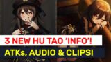 NEW Hu Tao Charged ATK Details, VA & Animation Clips! 1.3 Quest Bug Warning!   Genshin Impact