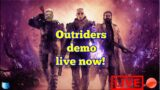OUTRIDERS DEMO!! LIVE NOW! 361/1000 sub goal!