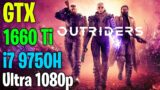 OUTRIDERS Demo   GTX 1660 Ti + i7 9750H   Ultra graphics (Benchmark/Gameplay FPS test)