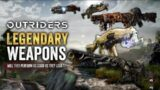 Outriders – How To Make Builds With LEGENDARY Weapons, An In-Depth Intro To Build Making.