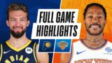 PACERS at KNICKS | FULL GAME HIGHLIGHTS | February 27, 2021