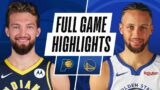 PACERS at WARRIORS | FULL GAME HIGHLIGHTS | January 12, 2021