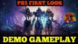 PS5 OUTRIDERS // DEMO GAMEPLAY FIRST IMPRESSION ON THE CHANNEL // WHICH CLASS WILL YOU PICK?