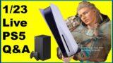 PS5 XSX DROPS Q&A 1/23, Sony PlayStation 5, Assassin's Creed Valhalla #ps5