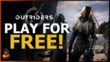 Play Outriders For Free!!! + FULL Rapid Fire Demo Details!