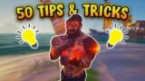 Sea of Thieves | 50 of the BEST Tips and Tricks in under 15 Minutes!!