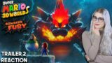 Super Mario 3D World + Bowsers Fury Trailer Reaction