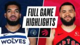 TIMBERWOLVES at RAPTORS   FULL GAME HIGHLIGHTS   February 14, 2021